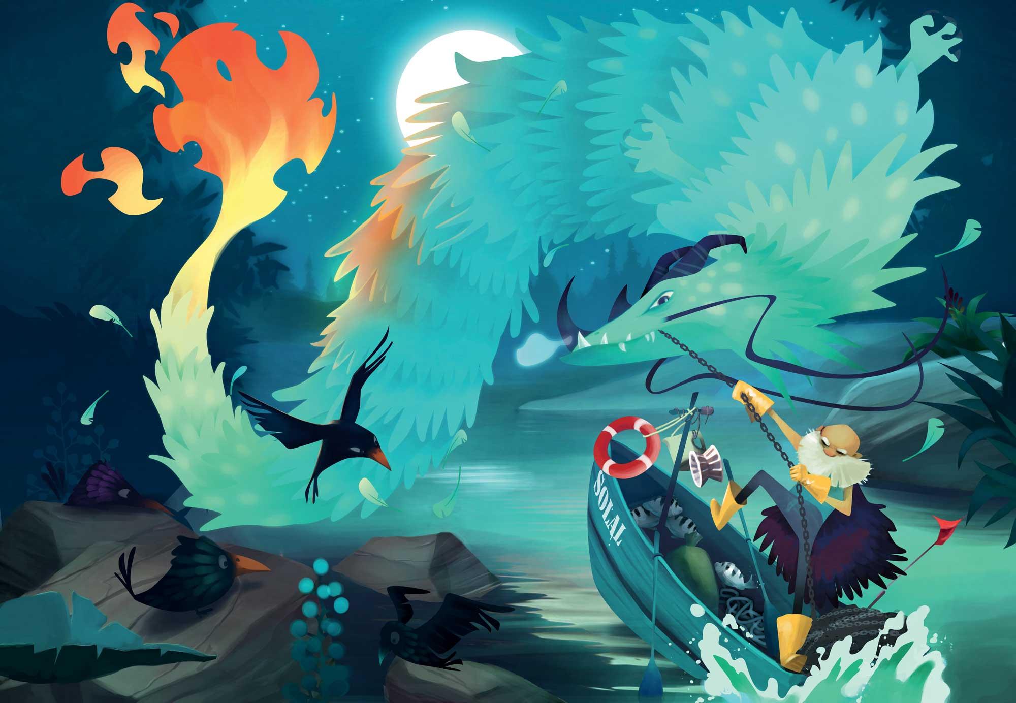Carte Dragon